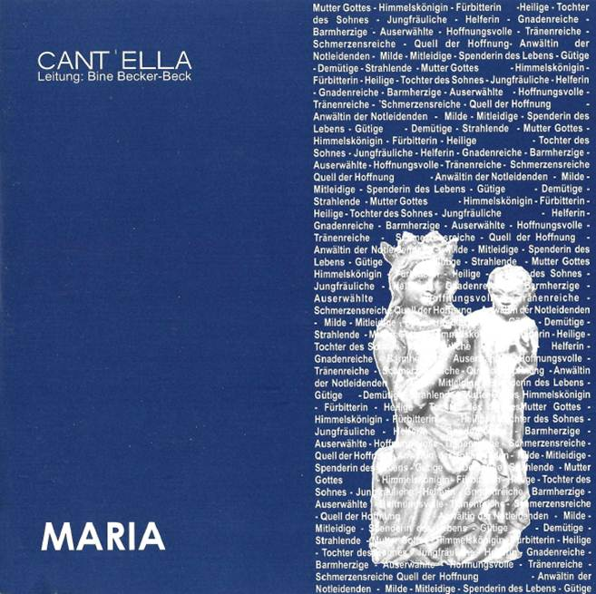 Cover CD Maria